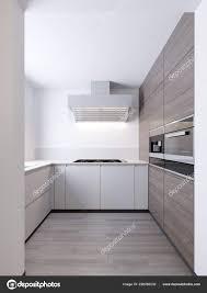 Modern White Kitchen Interior 3d Rendering Stockfoto Und A Cozy Modern Kitchen Room Interior 3d Rendering 228280032