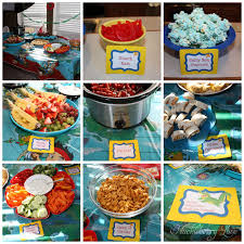 BBQ Food Ideas Birthday Party