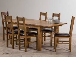 Chunky Solid Oak Dining Table And 6 Chairs Fantastic Wood Ebay