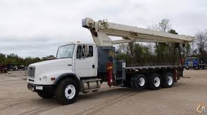 Sold USED TEREX BT60100 BOOM TRUCK Crane For In Houston Texas On ...