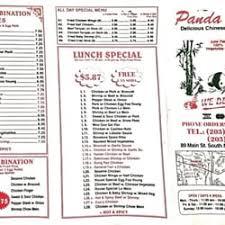 Panda House Chinese 89 Main St Meriden CT Restaurant