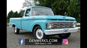 1964 Ford F100 Custom Cab - Denwerks- Bring A Trailer - YouTube 1964 Ford E100 Pickup Truck Louisville 941 Youtube F100 Michel Curi Flickr F250 For Sale 2164774 Hemmings Motor News Original Clean F 250 Custom Cab Vintage Vintage Trucks Sale Classiccarscom Cc695318 571964 Archives Total Cost Involved By Scot Rods Garage Gears Wheels And Motors Denwerks Bring A Trailer Cc1163614