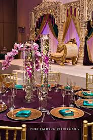 Suhaag Garden Indian Wedding Decorators Florida Reception Centerpieces Drooping