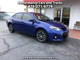 100 2014 Cars And Trucks Used Toyota Corolla For Sale In Bentonville AR 72712