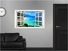Wall Mural Decals Beach by Amazon Com 36