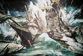 Hms Bounty Sinking Location by People And Places Into The Path Of The Hurricane Spanish Armada