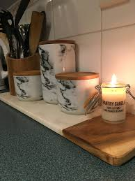 Big W Canisters Kmart Chopping Board And The Pantry Co Soy Candle Yum My Kitchen On A Sat Night