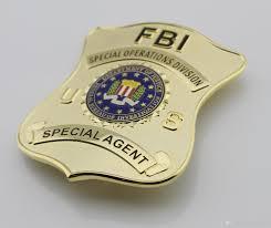 federal bureau of justice replica cop metalspecial operations division special