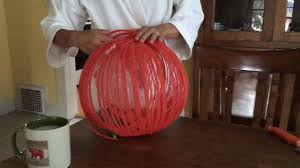 Dryer Vent Pumpkins by Yarn Balloon Pumpkin 2016 Youtube
