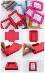Best DIY Picture Frames And Photo Frame Ideas Paper