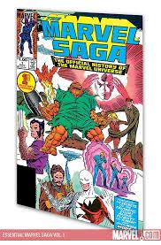 Essential Marvel Saga Vol 1 Trade Paperback