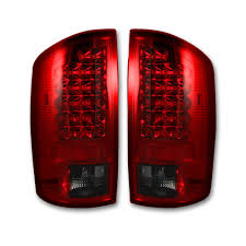 100 Dodge Truck Accessories Ram LED Taillights Car Parts 264171RBK RECON