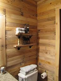 Bathroom Wall Cladding Materials by Wood Pallet Wall For Hotter Home Interior Decor Bathroom Designs