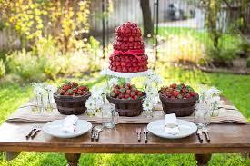Delicious Desert Decor On Outdoor Wedding Reception Ideas