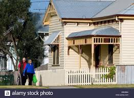 100 Queenscliff Houses For Sale Period House Victoria Australia Stock Photo