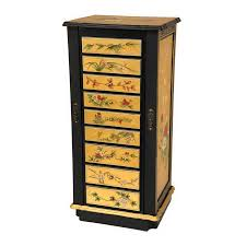 Shop Oriental Furniture Lacquer Gold Floorstanding Jewelry Armoire ... 6 Drawer Jewelry Armoire In Armoires Oriental Fniture Rosewood Box Reviews Wayfair Boxes Care Sears Image Gallery Japanese Jewelry Armoire Handmade Leather Armoirecabinet Distressed 25 Beautiful Black Zen Mchandiser Innerspace Deluxe Designer With Decorative Mirror Amazoncom Exp 11inch 3drawer Chinese Vintage Lacquer Mother Of Pearl 5 Drawers Oriental Description Extra Tall 38 Best Asian Style Images On Pinterest Style Buddha