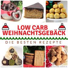 die besten rezepte für low carb weihnachtsgebäck