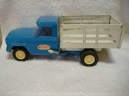 VINTAGE TONKA JEEP Dump Truck Stake Truck Metal Tonka Truck Mound ...
