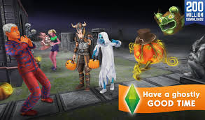 Sims Freeplay Halloween Update by The Sims Freeplay Android Apps On Google Play