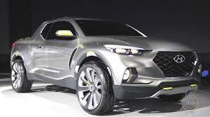 Hyundai Santa Cruz Concept Mates A Crossover With A Pickup (+VIDEO ...