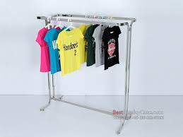 GR048 Best Quality Clothing Display Stands Clothes Racks For Sale