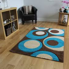 Brown And Teal Living Room Pictures by Havana 915 Thick Chocolate Brown And Teal Blue Living Room Rug 70