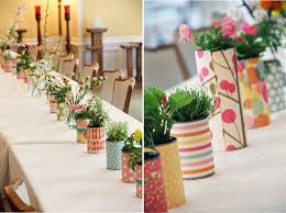 decoration a faire soi meme idées pour un centre de table à faire soi même bricolage