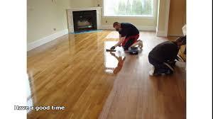 Restaining Hardwood Floors Toronto by Refinish Hardwood Floors Cost Youtube