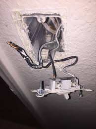My Bathroom Ceiling Fan Stopped Working by Seperating Bathroom Light And Exhaust Fan On Single Switch Home