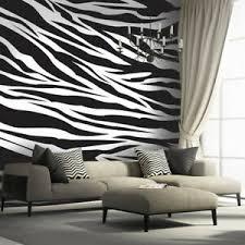 details zu fototapete vlies farbe zebra tapeten fototapeten fürs wohnzimmer fdb105