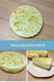 rezept philadelphiatorte ohne backen