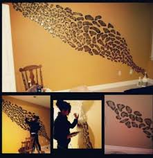Leopard Print Bathroom Wall Decor by Cheetah Leopard Animal Print Bathroom Wall Word Art Decor Bath