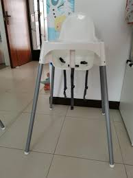 Preloved Ikea High Chair Without Table Top, Babies & Kids ... Iktilopghchairreviewweaningwithtraycushion Highchair With Tray Antilop Light Blue Silvercolour Baby Hacks Ikea Antilop High Chair 9mas Easymat On Ikea High Chair Babies Kids Nursing Feeding Carousell Cushion Cushion Only White Price In Singapore Outletsg Ikea Price Ruced Baby