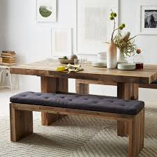 Interior Cool Rectangle Table With Bench 25 Dining Room Seats In Wooden Kitchen Decorations 15