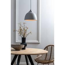 light living hängeleuchte pendelleuchte ø30x26 cm beton weiss für e27 leuchtmittel für wohnzimmer esszimmer schlafzimmer usw