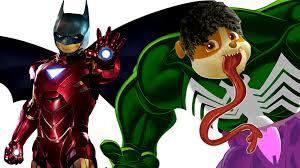 Paw Patrol Venom Hulk Iron Man BatMan Coloring Pages For Kids