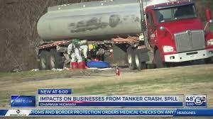 100 Tanker Truck Crash Chapman Highway Reopens After Gasoline Tanker Crash