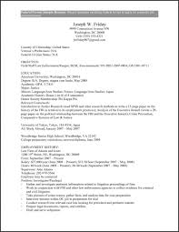 Resume Templates Government Resumes Examples Of Template
