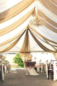 Used Burlap And Lace Wedding Decorations For Sale 30 Chic Tent Decoration Ideas