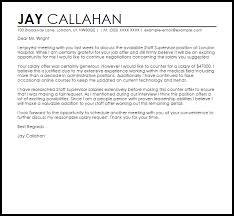 Counter fer Job Letter Job Letters