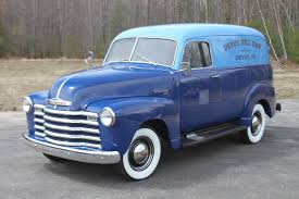 1949 Chevrolet Chevy 3100 Panel Van For Sale Trade Motorland ... 1949 Chevy Pickup 22 Inch Rims Truckin Magazine Chevrolet Kustom Red Hills Rods And Choppers Inc St Truck Of The Year Early Archives Goodguys Hot News 3100 Classics For Sale On Autotrader Installing Modern Suspension In An Early 1950 5 Window Not 3500 For Leitchfield 1983 Silverado 10 Pickup Truck Item K5968 Sold Beer Beverage Used Indiana 1947 48 49 C40 Flatbed Project Classic Other Gmc 1 Ton Jim Carter Parts