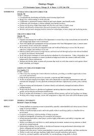 Download Creative Director Resume Sample As Image File