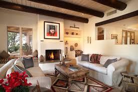 Southwestern Living Room By Eren Design Remodel