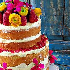 Rustic Lemon Cake For Weddings Or Birthdays