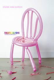 chaise ballon ballons ballons de sculpture ballons de décoration ballons