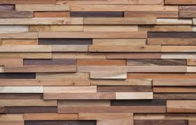 Revestimiento de pared de madera para uso residencial para