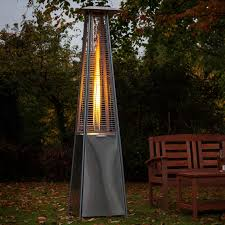 Fire Sense Deluxe Patio Heater Stainless Steel by Garden Patio Heaters Patio Heater Buying Guides Every Homeowner
