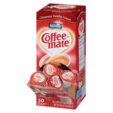 Coffee Mate Liquid Creamer Mini Cups Cinn Vanilla 50 NES42498