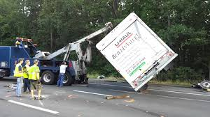 100 Tow Truck Richmond Va Coastal Ing Flipping UHaul Truck Back Over On 95 YouTube