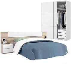 habitmobel set schlafzimmer kopf und tisch schrank 150 cm